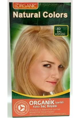 Organıc Natural Colors Saç Boyası 8D Bal Köpüğü