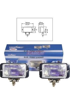 MAXTEL Sis Lambası 12V 146X77mm Krom Renbw JF837CL