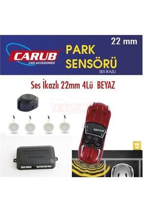Park Sensörü Ses İkazlı 22mm 4Lü Beyaz