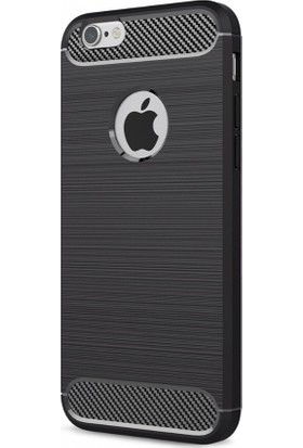 Eiroo Apple iPhone 6 / 6S Carbon Shield Ultra Koruma Kılıf