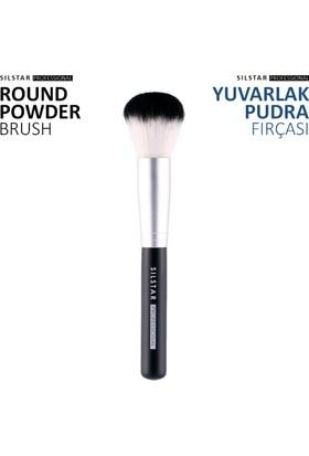 Limonian Silstar Round Powder Brush -Yuvarlak Pudra Fırçası
