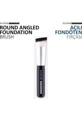 Silstar Roundangled Foundation-Açılı Fondöten Fırça