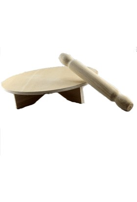Tahtalı Çarşı Oyun Hamur Tahtası 18 cm