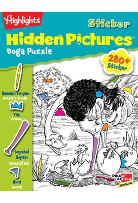 Sticker Hidden Pictures 2'Li Set (4 Yaş Ve Üzeri)