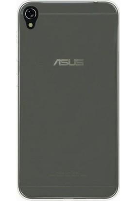 Gpack Asus ZenFone Live zb501kl Silikon Kılıf 0.2mm Ultra İnce + Nano Glass Ekran Koruyucu