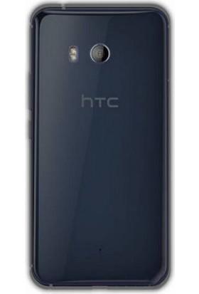 Gpack HTC U11 Silikon Kılıf 0.2mm Ultra İnce + Nano Glass Ekran Koruyucu
