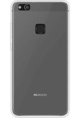 Gpack Huawei P10 Lite Silikon Kılıf 0.2mm Ultra İnce + Nano Glass Ekran Koruyucu