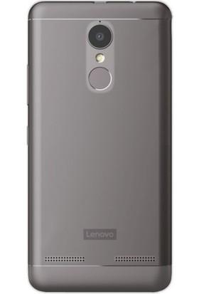 Gpack Lenovo K6 Silikon Kılıf 0.2mm Ultra İnce + Nano Glass Ekran Koruyucu
