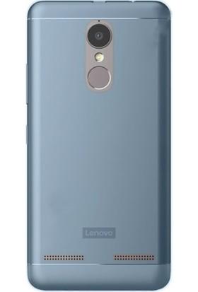Gpack Lenovo K6 Note Silikon Kılıf 0.2mm Ultra İnce + Nano Glass Ekran Koruyucu