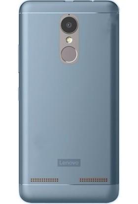 Gpack Lenovo K6 Power Silikon Kılıf 0.2mm Ultra İnce + Nano Glass Ekran Koruyucu