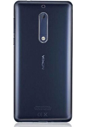 Gpack Nokia 5 Silikon Kılıf 0.2mm Ultra İnce + Nano Glass Ekran Koruyucu