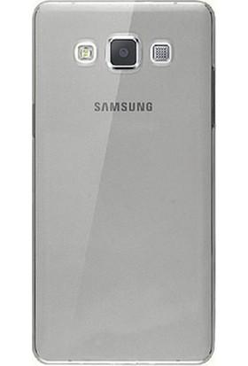 Gpack Samsung A8 2015 Silikon Kılıf 0.2mm Ultra İnce + Nano Glass Ekran Koruyucu
