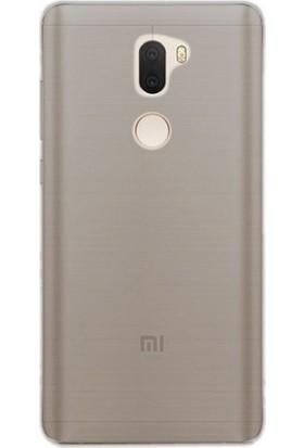 Gpack Xiaomi Mi 5S Plus Silikon Kılıf 0.2mm Ultra İnce + Nano Glass Ekran Koruyucu