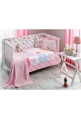 Taç Battaniyeli Bebek Uyku Seti Daisy Pembe