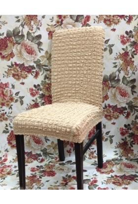 Atacan Bürümcük Sandalye Örtüsü Set 6 Lı Naturel