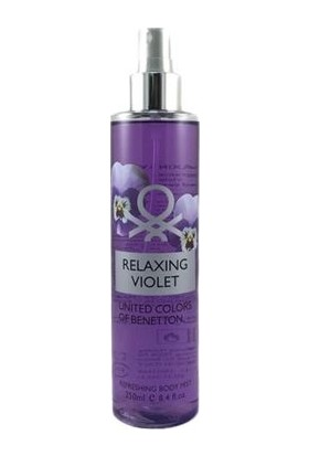 United Colours Of Benetto Relaxing Violet Refreshing Body Mist 250Ml