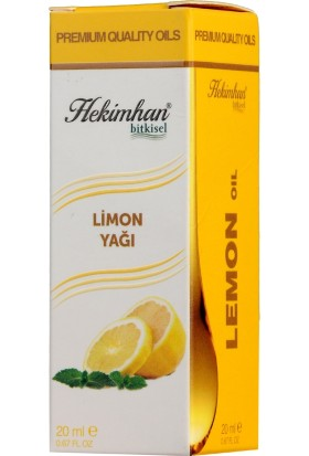 Hekimhan Limon Yağı 20 ml
