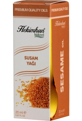 Hekimhan Susam Yağı 20 ml