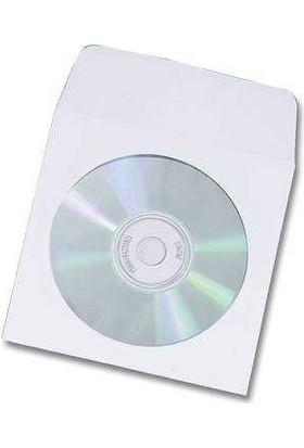 Elba Cd Zarfı Beyaz Pencereli 12.5X12.5 90 Gr 100 Lü