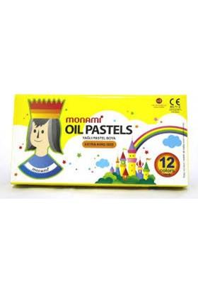 Monami Pastel Boya Karton Kutu Köşeli 12 Li