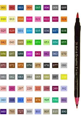 Zig Brush Pen Art Graphic Twin 059 Tut80