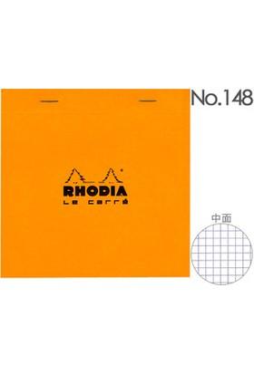 Rhodıa Blok Not Kareli 14,8 X 14,8 Cm Turuncu