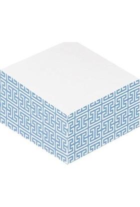 Post-İt Yapışkanlı Not Kağıdı Küp Kenarı Desenli 300 Yp 69,8X69,8 Beyaz 2040-Dpb