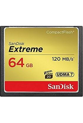 Sandisk 64GB CF Extreme Kart 120MB/S SDCFXSB-064G-G46