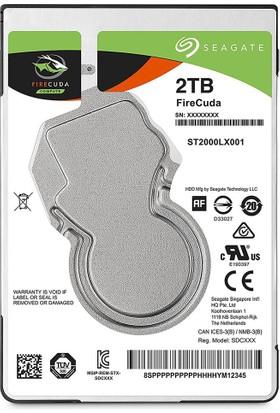 "Seagate 2TB FireCuda Gaming SSHD SATA 6Gb/s 64MB Cache 2.5"" Disk ST2000LX001"