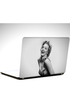 Dekolata Marilyn Monroe Laptop Sticker Boyut LAPTOP 19 inch (40,5X27)