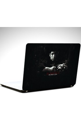 Dekolata Scarface Laptop Sticker Boyut LAPTOP 19 inch (40,5X27)