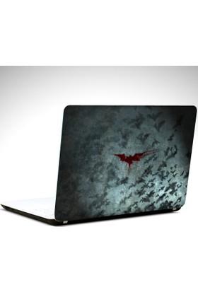 Dekolata Batman Yarasalar Laptop Sticker Boyut LAPTOP 19 inch (40,5X27)