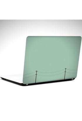 Dekolata Elektrik Telleri Minimal Laptop Sticker Boyut LAPTOP 19 inch (40,5X27)
