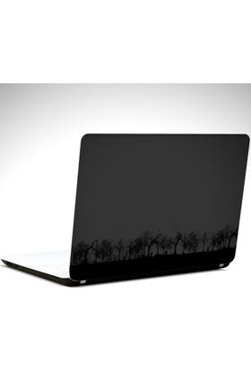 Dekolata Gece ve Kuşlar Laptop Sticker Boyut LAPTOP 19 inch (40,5X27)