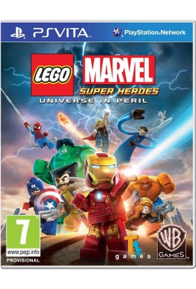WB Ps Vıta Lego Marvel Super Heroes Unıverse In Per