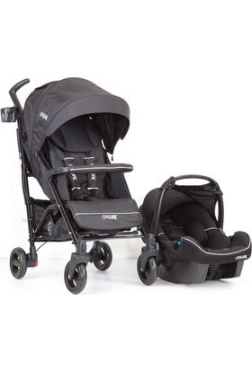 Casual Vista Trona Travel Sistem Bebek Arabası / Siyah