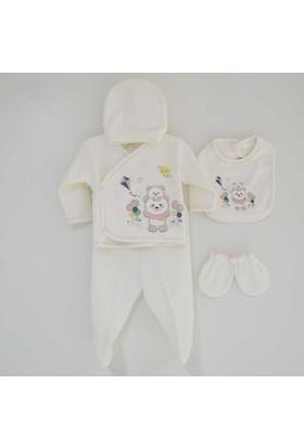 Bebitof 856 5'li Bebek Hastane Çıkış Seti