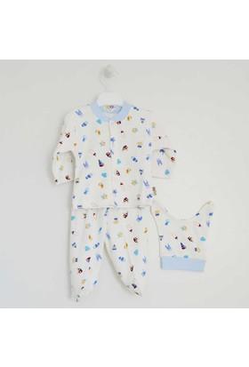 Sebi Bebe 2215 Bebek Pijama Takımı