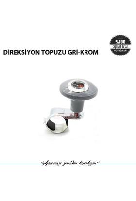 Direksiyon Topuzu Gri-Krom
