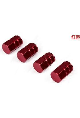 Sibop Kapağı Alüminyum 4 Lü Altıgen Kırmızı