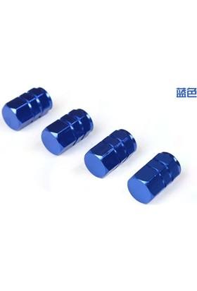 Sibop Kapağı Alüminyum 4 Lü Altıgen Mavi