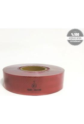 Fosfor Reflektiv Şerit 5 Cmx50 Mt Kırmızı