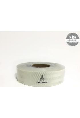 Fosfor Reflektiv Şerit 5 Cmx50 Mt Beyaz