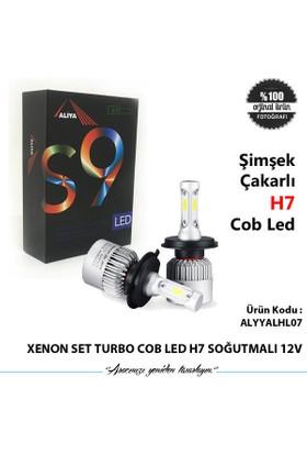 Xenon Set Turbo Cob Led H7 Soğutmalı 12V