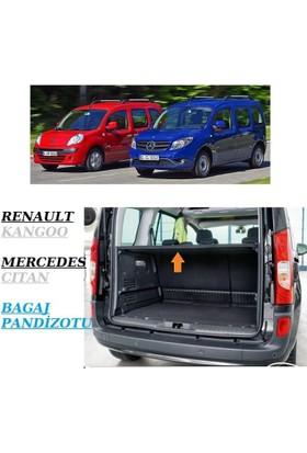 Renault Kango 2009>/Merc. Cıtan Katlanır Bagaj Pandizotu
