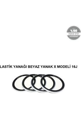 Lastik Yanağı Beyaz Yanak X Modeli 16J