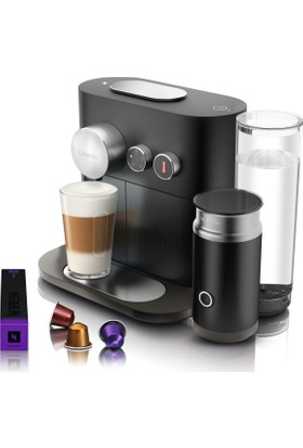 Nespresso C85 Expert Milk Off Black Kahve Makinesi