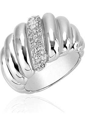 Khailo Silver Yaşam Örüntüsü Yüzük R0266Ww