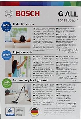 Bosch Elektrikli Süpürge TozTorbası Orjinal G Tipi