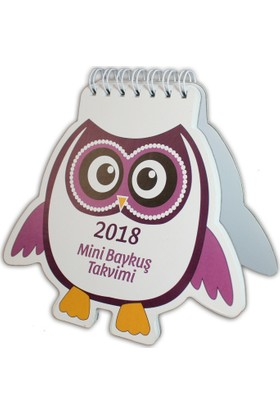 İstisna - Takvimi 2018 Mini Baykuş
